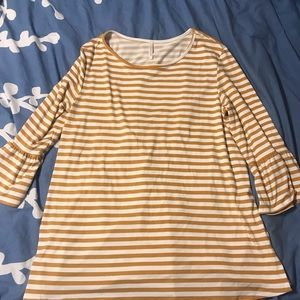 Tops - NWOT Lime 'N Chili 3/4 Sleeve Top in Burnt Yellow